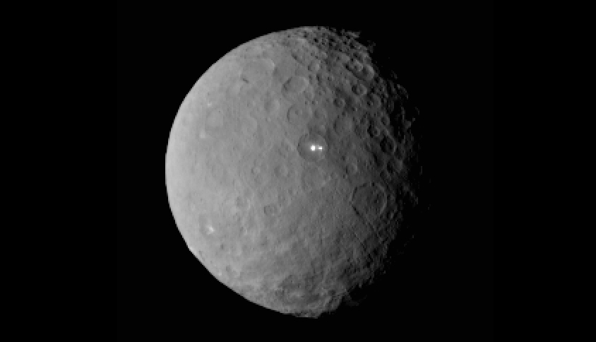 Dwarf planet Ceres continues to puzzle (Picture NASA)