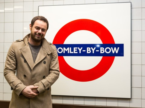 'Mind the gap, you mug!' Listen to EastEnders hardman Danny Dyer taking over the London Underground for soap's anniversary