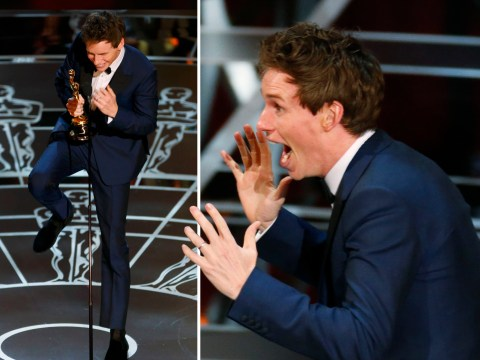 Eddie Redmayne won the best actor Oscar for The Theory Of Everything, of course