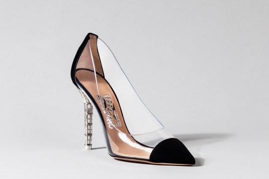 ef6ebea31476 Ferragamo for Disney Cinderella shoes