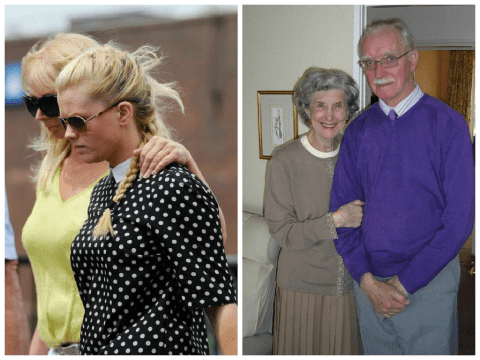 Young driver 'screamed down phone to her grandfather after knocking down and killing elderly couple'