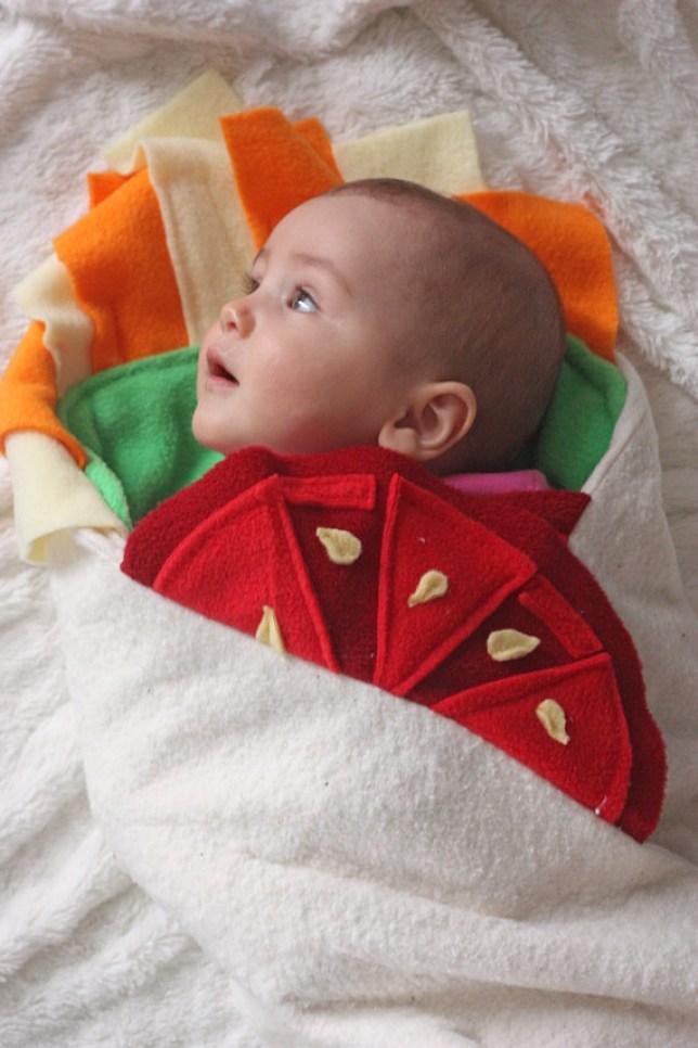 Baby Burrito costume
