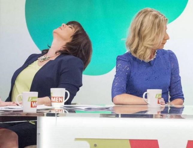 Katie Hopkins Colleen Nolan on Loose Women Picture ITV