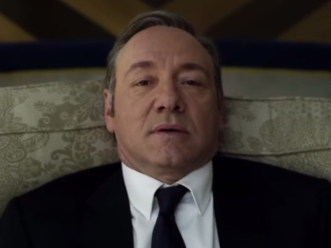 Here's a supercut of Frank Underwood's asides to the camera in House Of Cards