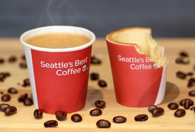 Edible Cookie Coffee Cup in the Works in the UK from KFC