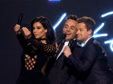 Brit Awards 2015: Kim Kardashian messes up selfie with Ant and Dec