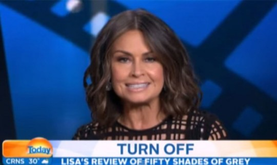Lisa Wilkinson Fifty Shades Of Grey review