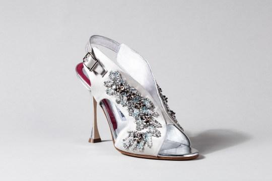 2e78bda3621a Manolo Blahnik for Disney Cinderella shoes