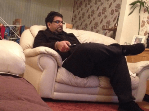 This guy fell asleep in a cab and ended up at the taxi driver's house watching Take Me Out