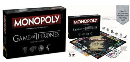 Games of Thrones board game (Picture: HBO)