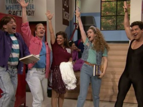 A Saved By The Bell reunion has finally happened thanks to Jimmy Fallon