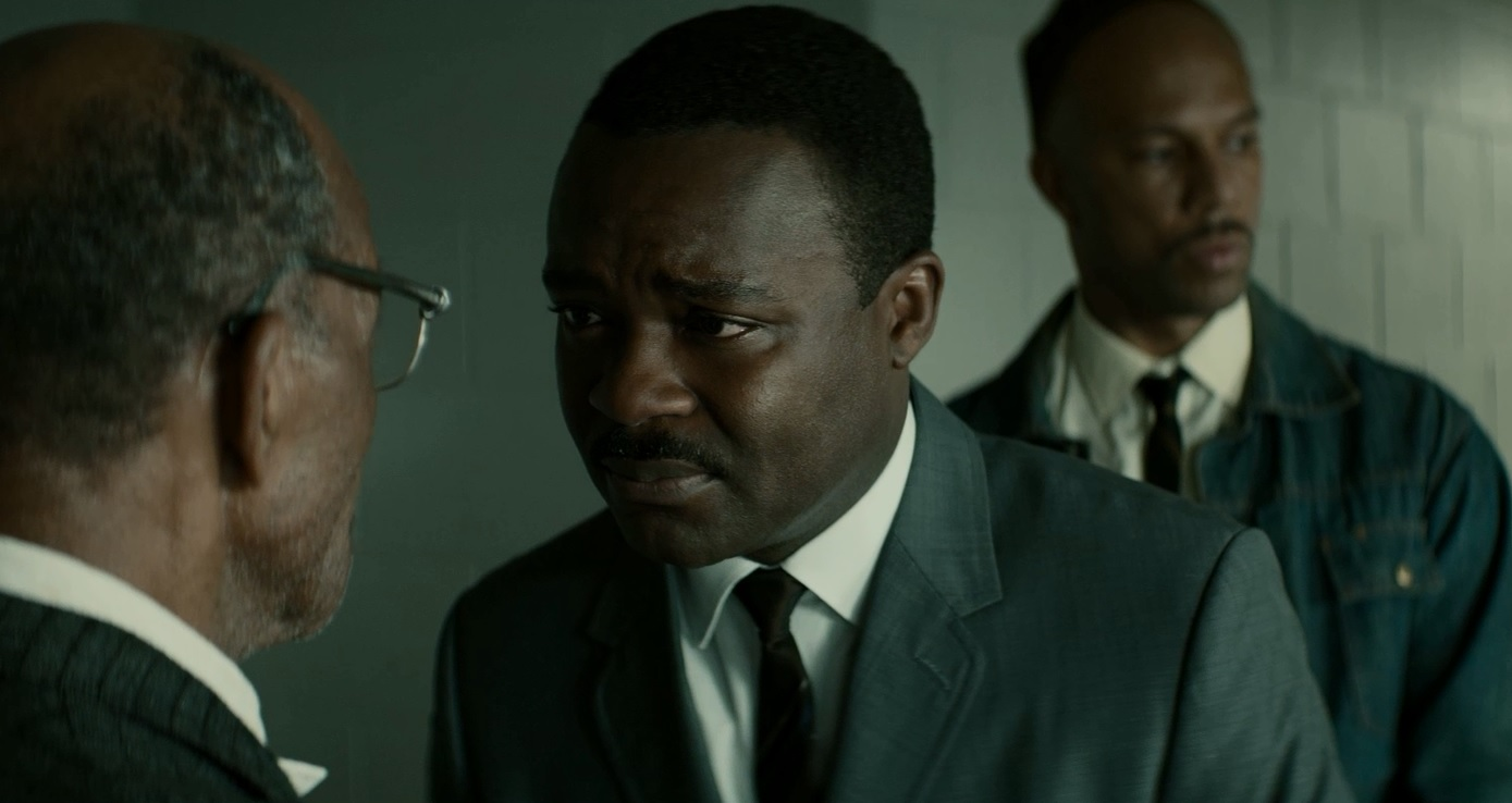 Watch David Oyelowo comfort a grieving protestor in our EXCLUSIVE Selma clip