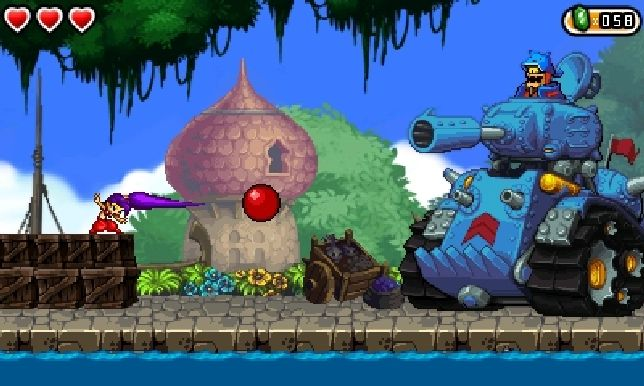 Shantae And The Pirate's Curse (3DS) - Metal Slug eat your heart out