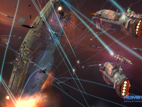 Homeworld Remastered Collection review – rag tag fleet