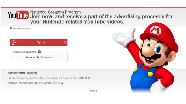 What do you think of Nintendo's Creators Program?