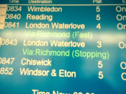 London Waterloo changes its name to London Waterlove – just for the day