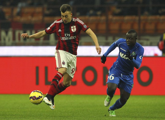 Liverpool on alert as AC Milan forward Stephan El Shaarawy becomes available for £10 million