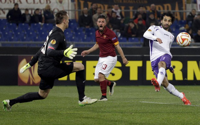 On-loan Chelsea winger Mohamed Salah posts quality Selfie video of Fiorentina fans celebrating after Roma win