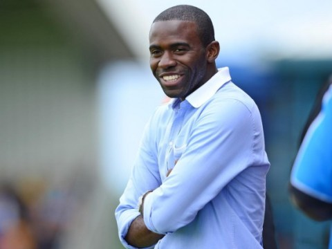 Fabrice Muamba taking training sessions at Liverpool academy