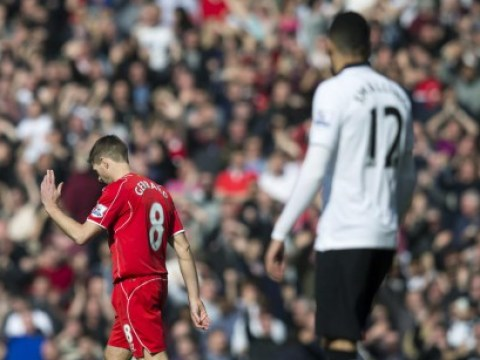 Steven Gerrard was not the only reason Liverpool lost to Manchester United