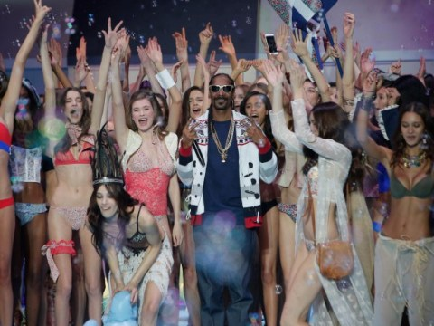 Snoop Dogg makes surprise cameo on Etam's Paris Fashion Week catwalk