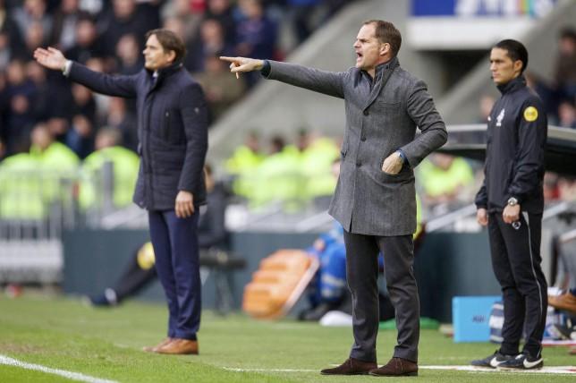 Frank de Boer: I'd love to manage Liverpool or Tottenham