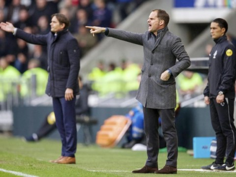 Frank de Boer: I'd love to manage Liverpool or Tottenham