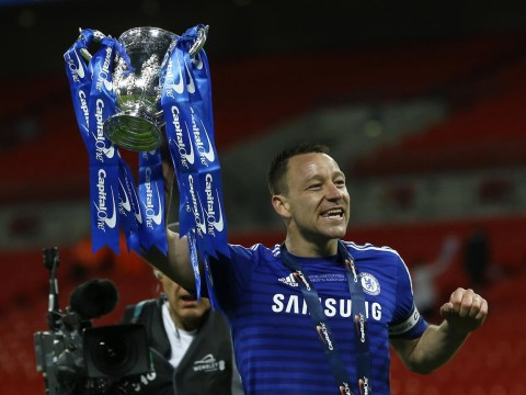 John Terry insists he won't follow Frank Lampard's lead and play for another club if Chelsea don't renew contract