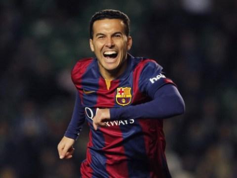 Arsenal transfer target Pedro admits he's considering Barcelona future
