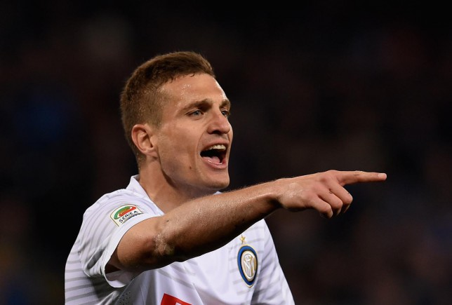 Manchester United DID try and re-sign Nemanja Vidic from Inter Milan, claims agent