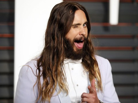 Jared Leto has had all his hair cut off… to play the Joker in Suicide Squad
