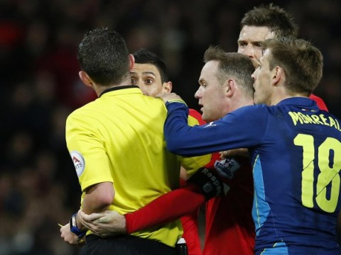 Referees must be consistent after sending off Manchester United's Angel di Maria