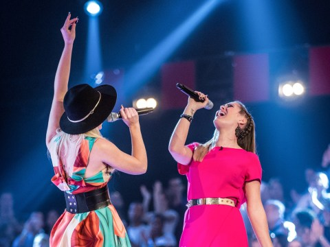 The Voice 2015: Rita waits to use her steal in round two of the battles
