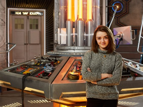 Maisie Williams reveals secrets about her Doctor Who role