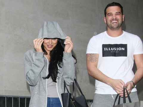 Marnie Simpson and Ricky Rayment have had their first fight