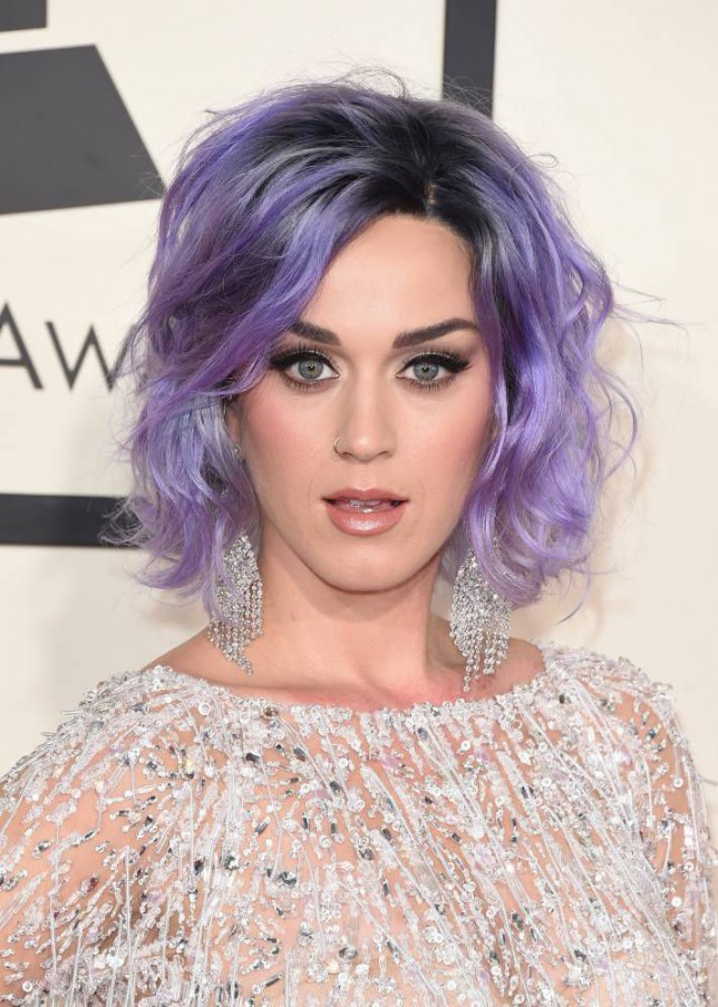 LOS ANGELES, CA - FEBRUARY 08:  Singer Katy Perry attends The 57th Annual GRAMMY Awards at the STAPLES Center on February 8, 2015 in Los Angeles, California.  (Photo by Jason Merritt/Getty Images)