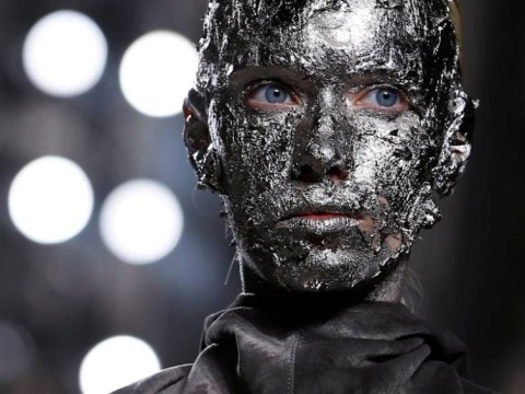 Tinfoil chic! This is how designers want you to do your makeup next season