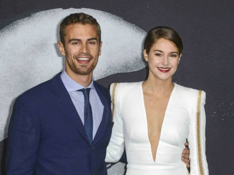 Insurgent spoilers: Theo James reveals Shailene Woodley chemistry is through the roof in Divergent sequel