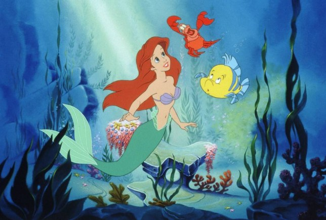 FILM: THE LITTLE MERMAID FOR FURTHER INFORMATION CONTACT BUENA VISTA PRESS OFFICE ON 0181 222 2828...SCAN101.JPG