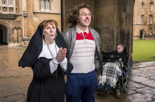 Catherine Tate, David Walliams, Professor Stephen Hawking