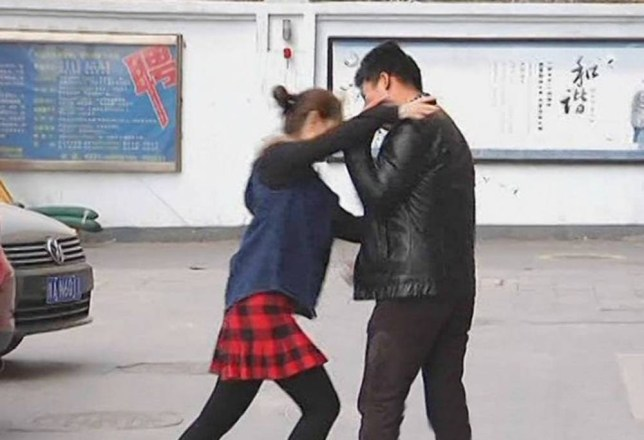 """Pic shows: A woman goes mad when her boyfriend bought a boob job for her birthday.nnAn excited boyfriend who bought his girlfriend a boob job for her birthday was dumped after she went mad at the suggestion her breasts were not good enough.nnWang Chen, 26, had booked slim brunette Wen Ting, 24, into a local cosmetic surgery clinic in the city of Zhengzhou in central China thinking she would be delighted.nnBut when he revealed his big surprise as he led her to the clinic she flew into a rage, punching him in the head and kicking him in the groin.nnPal Li Wu, 25, who was supposed to take photos of the moment, said: """"Wang had asked me to capture his girlfriend¿s reaction when he showed her what he had bought her.nn""""I don¿t think he was expecting this though.nn""""She went ballistic.nn""""She started shouting that she had never been so insulted in her life and that if he didn¿t like her breasts then he could f**k off.nn""""He apologised and said he thought they were lovely but that he thought she would like bigger ones.nn""""At that point she started hitting and kicking him and then landed one right in his gentleman¿s area.nn""""She was clearly furious and stormed off.nn""""I decided to stop taking photos as I realised this probably wasn¿t a moment he wanted captured.""""nnStunned Wang later said: """"I really thought she would like the present.nn""""Now she says she doesn¿t want to be with me anymore.nn""""But I will come up with something to win her back.""""nn(ends)n"""