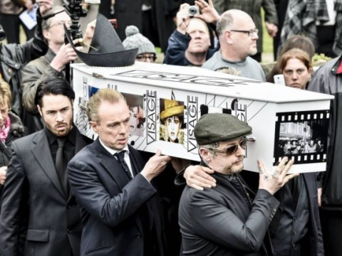 Steve Strange funeral: Gary Kemp, Boy George and Martin Kemp among pallbearers as Visage singer laid to rest