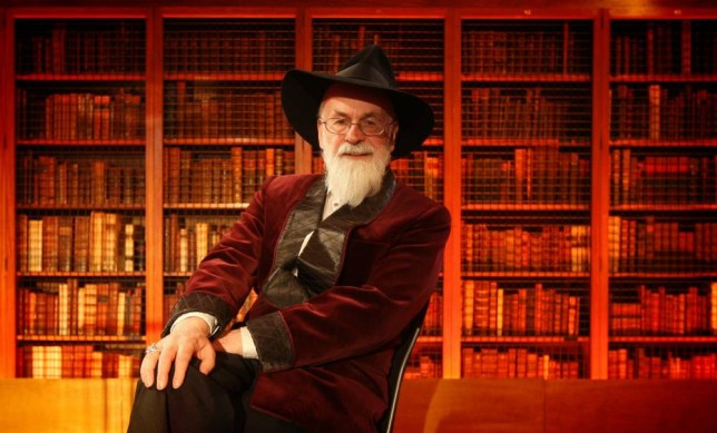 File photo dated 01/02/10 of Sir Terry Pratchett who has died at the age of 66, his publishers Transworld have announced. PRESS ASSOCIATION Photo. Issue date: Thursday March 12, 2015. See PA story DEATH Pratchett. Photo credit should read: Dominic Lipinski/PA Wire