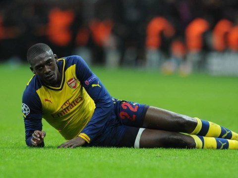 Ajax considering buying new striker due to Arsenal loanee Yaya Sanogo's struggles – report