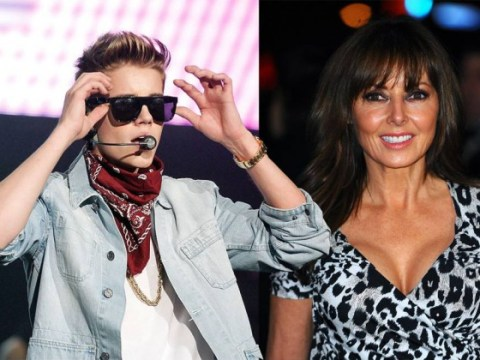 'Get that woman away from me': Carol Vorderman gets a verbal bashing from Justin Bieber