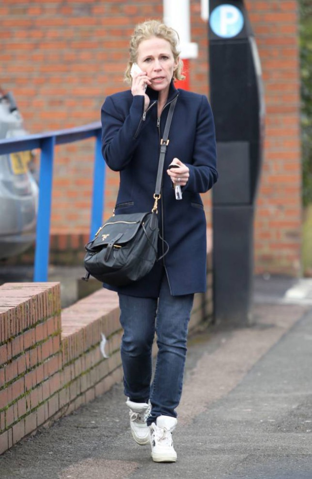 16.MARCH.2015 - HERTFORDSHIRE - UK *EXCLUSIVE ALL ROUND PICTURES* ACTRESS LUCY BENJAMIN SEEN LEAVING THE EASTENDERS STUDIOS IN ELSTREE, HERTFORDSHIRE. LUCY WHO PLAYED THE CHARACTER OF LISA FOWLER HAD ONE OF THE MOST HIGHLY PUBLICISED AND ANTICIPATED STORYLINES IN EASTENDERS WHEN SHE SHOT HER THEN PARTNER PHIL MITCHELL PLAYED BY STEVE MCFADDEN.  LUCYíS CHARACTER WAS BROUGHT BACK ON TWO OCCASIONS OVER THE PAST YEARS, MAYBE AS SHE WAS SPOTTED AT THE STUDIOS SHE IS GOING TO MAKE ANOTHER RETURN THIS YEAR, FOLLOWING IN GILLIAN TAYLFORTHîS FOOTSTEPS BYLINE MUST READ : XPOSUREPHOTOS.COM ***UK CLIENTS - PICTURES CONTAINING CHILDREN PLEASE PIXELATE FACE PRIOR TO PUBLICATION *** **UK CLIENTS MUST CALL PRIOR TO TV OR ONLINE USAGE PLEASE TELEPHONE 0208 344 2007**