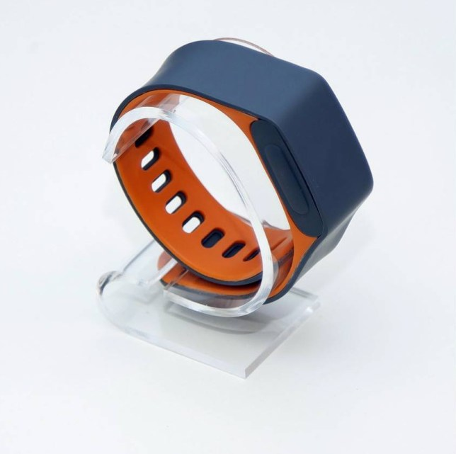 "A piece of wearable technology has been developed that will continuously check if you are alive and informs your relatives if you fall.  The Assure, made by British company Acticheck, looks like a watch and monitors the wearer's temperature and movements. It also does an ""end to end check"" every 15 minutes. This checks the users vital signs to make sure they are all within normal levels.  Founder of Acticheck, Karl Gibbs, 48, from Saffron Walden, Essex, developed the Assure smart-band when his mother felt vulnerable.  SEE OUR COPY FOR DETAILS. Pictured:  The Acticheck. © Solent News & Photo Agency UK +44 (0) 2380 458800"