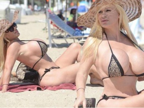 6 uses for 'extreme human Barbie' Lacey Wildd's giant boobs when she ups them from size LLL to QQQ