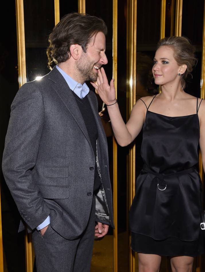 Bradley Cooper and Jennifer Lawrence leave hotel together as he brushes off Suki Waterhouse split