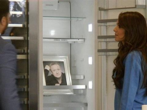 Cheryl Fernandez-Versini's crush on Louis Walsh revealed in Saturday Night Takeaway skit